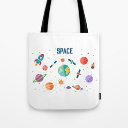 Space Life Tote Bag