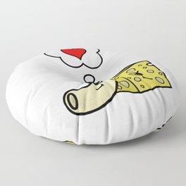Mac -N- Cheese Love Floor Pillow