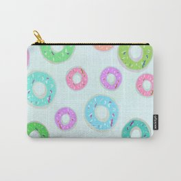 Colourful Donuts Carry-All Pouch