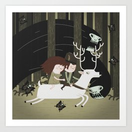 the black forest No.1 Art Print