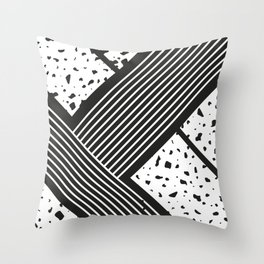 Woodlands Up Close- Abstract 1 Throw Pillow