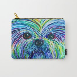 Shih Tzu Intense Colors Carry-All Pouch