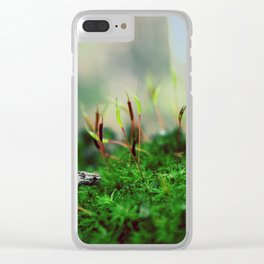 Exobiology Clear iPhone Case