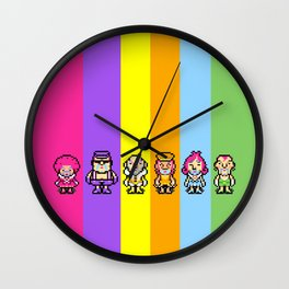 The Magypsies (Aeolia, Doria, Lydia, Phrygia, Mixolydia and Ionia) - Mother 3 Wall Clock