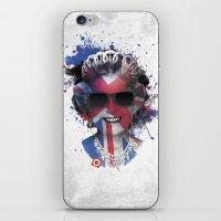 deadmau5 iPhone & iPod Skins featuring Queen Listen Music by Sitchko Igor