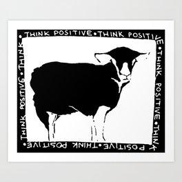 Think Positive II Art Print