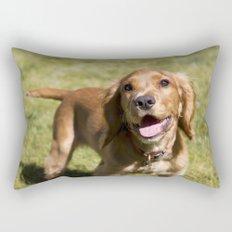Casper the Cocker Spaniel Rectangular Pillow