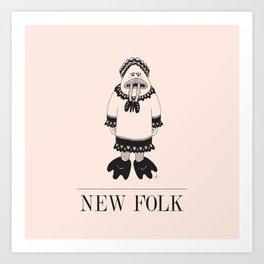 New Folk - Eat It Art Print