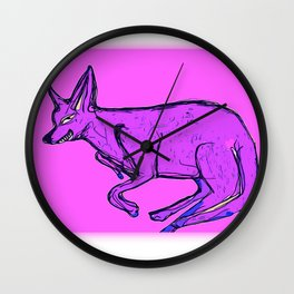 Archie the Chihuahua Wall Clock