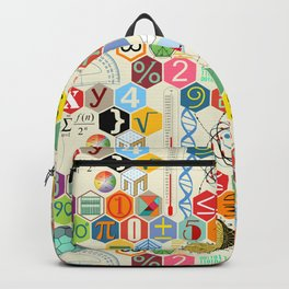 Math in color (little) Backpack