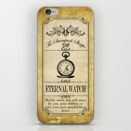 Steampunk Apothecary Shoppe - Watch iPhone Skin