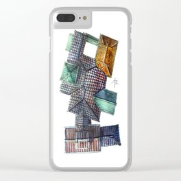 Taiwanese roofscapes 03 Clear iPhone Case