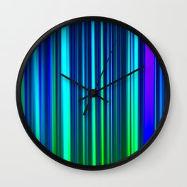 Eggplant LED Sculpture Light Painting Wall Clock