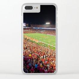 Jack Trice Stadium Clear iPhone Case