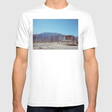 Palm Springs Windmills X White MEDIUM Mens Fitted Tee