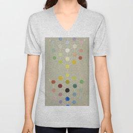 Color Cubes Unisex V-Neck