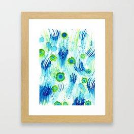 Sea Forms Framed Art Print