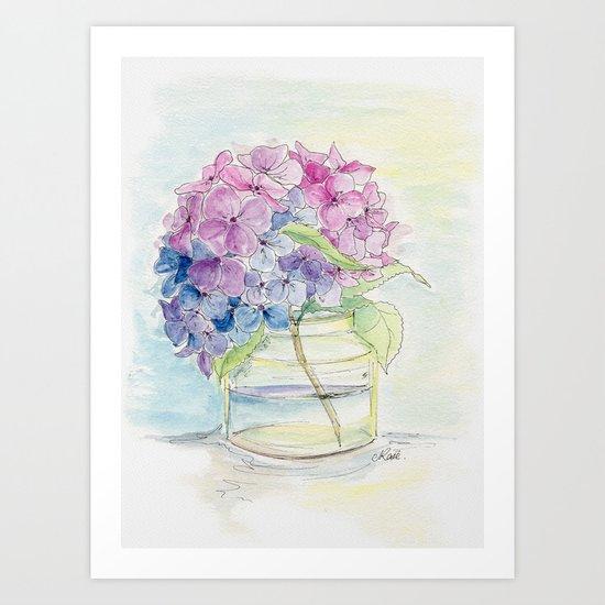 Hydrangea, Still Life by jrosedesign