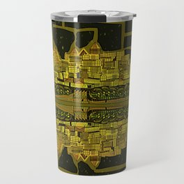 Space Colonization Travel Mug