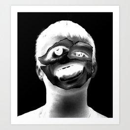 Janie Doe (Identity Series) Art Print