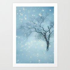 Night fall Art Print