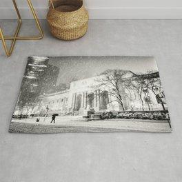New York City Snow - 5th Avenue Rug