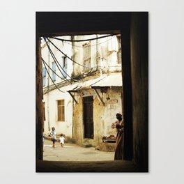 Stone Town, Zanzibar, Tanzania Canvas Print