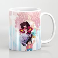 steven universe Mugs featuring Steven by clayscence