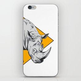 Rhino Yellow iPhone Skin