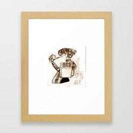 WALL-ace Framed Art Print