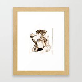 WALL-ace Framed Art Print
