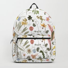 Collectors Garden Sketchbook Backpack