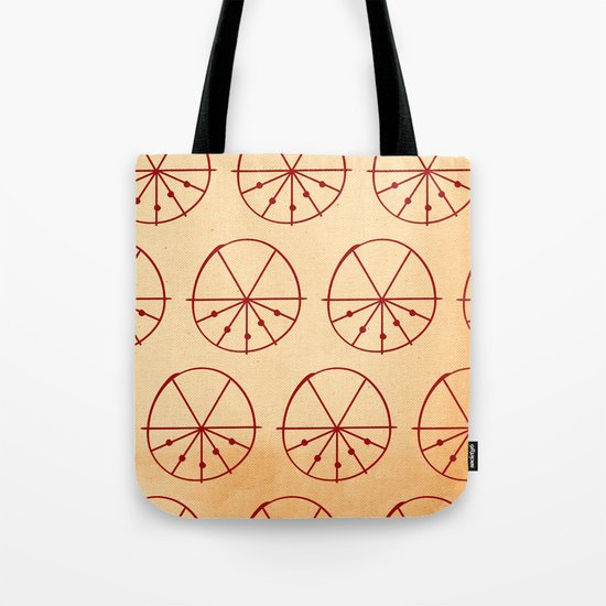 Circle Sections Tote Bag