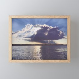 And we thought it was just an ordinary day Framed Mini Art Print