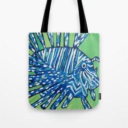 Lion Fish 2, a pretty predator & invasive species Tote Bag