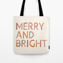 Merry and Bright Light Tote Bag