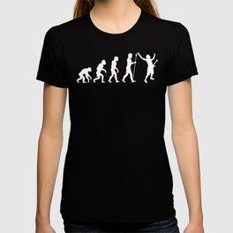 Rock God Guitarist Evolution T-shirt