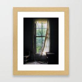 Ragged Framed Art Print