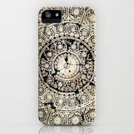 BLACK & GOLD MANDALA ARMARRI OKRE iPhone Case