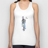 brompton Tank Tops featuring Me and My Brompton by Swasky