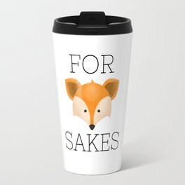 For Fox Sakes Travel Mug