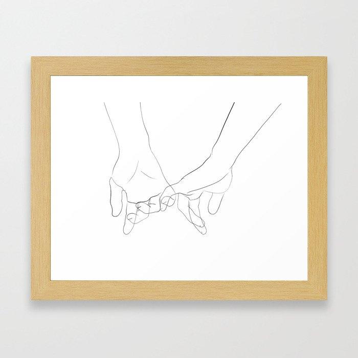 promesse Gerahmter Kunstdruck