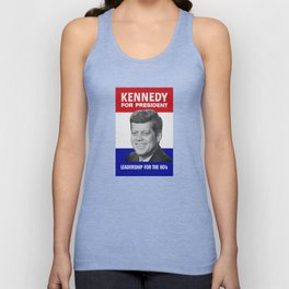 Kennedy For President - Leadership For The 60's Unisex Tank Top