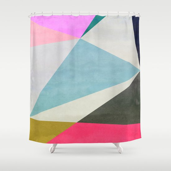 Abstract 05 Shower Curtain