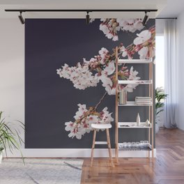 Cherry Blossoms (illustration) Wall Mural
