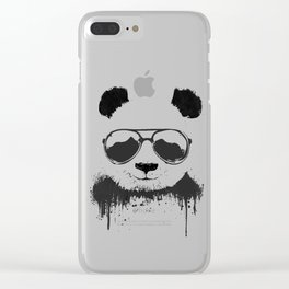 Stay Cool Clear iPhone Case