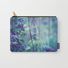 Morning Purples and Greens Carry-All Pouch