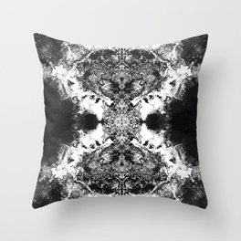 Black Gatria- Abstract Costellation Painting. Throw Pillow