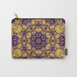 mandala 7 yellow purple #mandala Carry-All Pouch