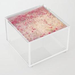 Fields of poppies Acrylic Box